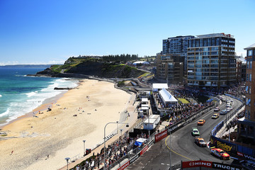 Fabian Coulthard Supercars - Newcastle 500