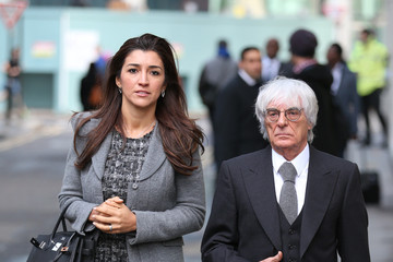 Fabiana Flosi Bernie Ecclestone Arrives at Court