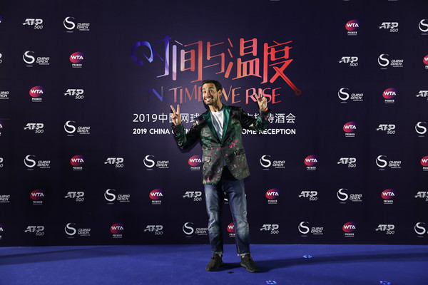 2019 China Open - Day 2 [font,carpet,performance,event,talent show,flooring,fabio fognini,china open,reception,beijing olympic tower,italy,china]