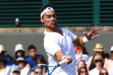Fabio Fognini Day Two: The Championships - Wimbledon 2018