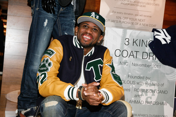 Fabolous Fabolous attends the 2011 3 Kings Coat Drive at Dr. Jay's on November 1, 2011 in New York City.