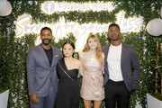 "(L-R) Actors Jovan Adepo, Kelly Marie Tran, Elizabeth Olsen, and Mamoudou Athie attend the Facebook Watch ""Sorry For Your Loss"" S2 Premiere at NeueHouse Hollywood on October 1, 2019 in Los Angeles, California."