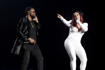 Faith Evans Puff Daddy and Bad Boy Family Reunion Tour at The Forum in Inglewood, CA