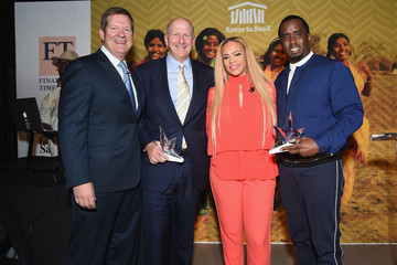 Faith Evans Room to Read Honors Sean 'Diddy' Combs & David M. Solomon for Impact on Global Education at 2017 New York Gala - Inside