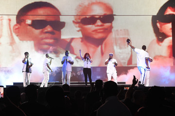 Faith Evans Puff Daddy and Bad Boy Family Reunion Tour at Madison Square Garden