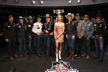 Faith Lynch 2020 Professional Bull Riders Monster Energy Buck Off At The Garden