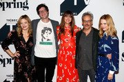 Kristin Slaysman, Bridget Moloney, Josh Pais, Claire Coffee attend the Fall Pilot Season of I was a Teenage Pillow Queen during the 2018 Tribeca TV Festival at Spring Studios on September 22, 2018 in New York City.