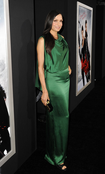 "Famke Janssen - Premiere Of Paramount Pictures' ""Hansel And Gretel Witch Hunters"" - Red Carpet"