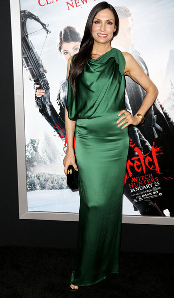 "Famke Janssen - Premiere Of Paramount Pictures' ""Hansel And Gretel Witch Hunters"" - Arrivals"