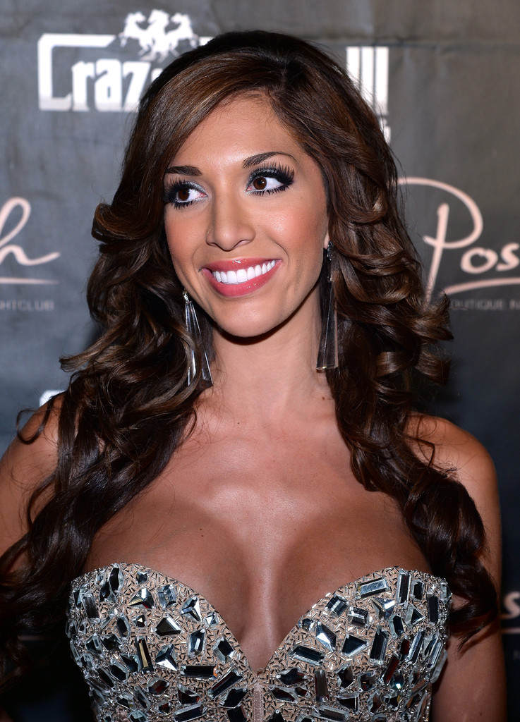 Farrah Abraham Cleavage - #TheFappening