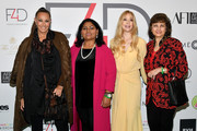 Donna Karan, Fashion 4 Development Founder Evie Evangelou and guests attend Fashion 4 Development's 8th Annual Official First Ladies Luncheon at The Pierre Hotel on September 25, 2018 in New York City.