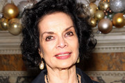 Bianca Jagger attends a welcome dinner hosted by Nadja Swarovski in anticipation of the Fashion Awards in partnership with Swarovski at The Arts Club on December 3, 2017 in London, England.