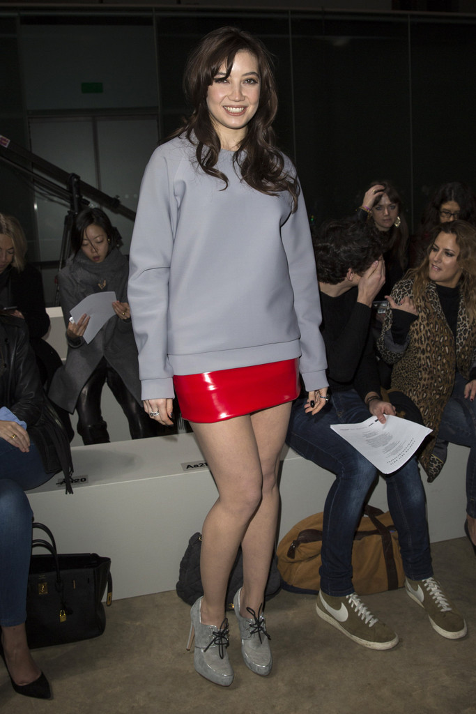 Front Row At The Fashion East Show Zimbio