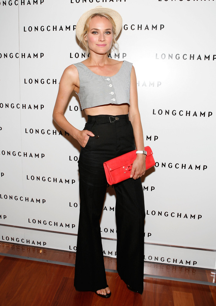Actress Diane Kruger attends Longchamp's 60th Anniversary celebration at La Maison Unique Longchamp on July 14, 2008 in New York City.