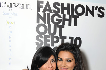Nadia Ali Fashion's Night Out at Caravan & The Owner Claudine's Birthday Party