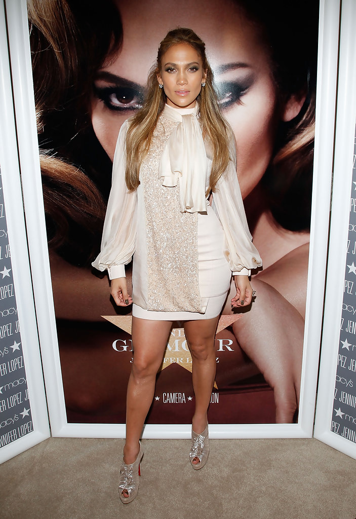 Jennifer Lopez In Fashion 39 S Night Out At Macy 39 S Herald