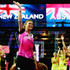 Irene Van Dyk Photos - Retired player Irene van Dyk of New Zealand is acknowledged prior to the Fast5 Netball Series final match between Australia and New Zealand at Vector Arena on November 9, 2014 in Auckland, New Zealand. - Fast Five Netball Series