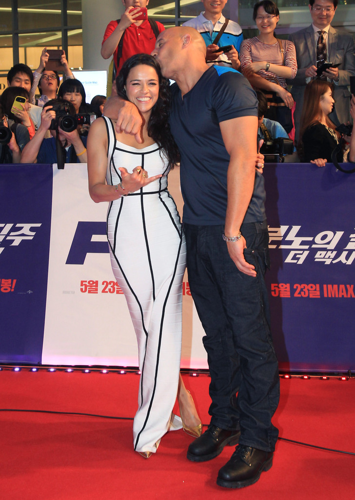 Fast Furious 6 South Korea Premiere lBs176aXdzEx jpgVin Diesel And Michelle Rodriguez Photoshoot