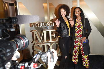 Fatima Siad Nordstrom Men's NYC Store Opening