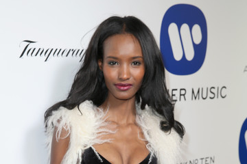 Fatima Siad Warner Music Group Hosts Annual Grammy Celebration - Red Carpet