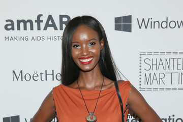 Fatima Siad Celebrities Arrive at the 4th Annual Solstice Presented by amfAR's generationCURE