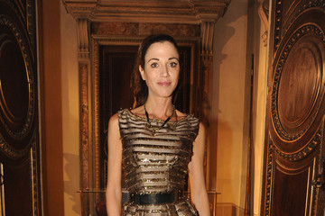 Federica Torti Front Row at the Luisa Beccaria Show