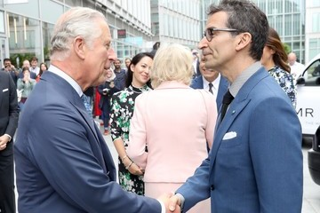 Federico Marchetti The Prince Of Wales And Duchess Of Cornwall Visit Yoox Net-a-Porter Tech Hub