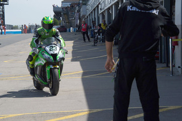 Federico Sandi World Superbikes Race