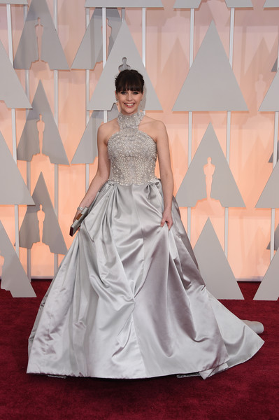 Felicity Jones - Arrivals at the 87th Annual Academy Awards — Part 3