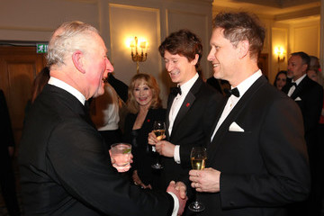 Felicity Kendal Prince Charles The Prince Of Wales Attends A Prince's Trust 'Invest In Futures' Reception