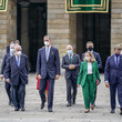 Felipe VI of Spain Spanish Royal Family Attends A National Offering To The Apostle Santiago