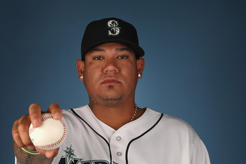 Felix Hernandez Seattle Mariners Photo Day