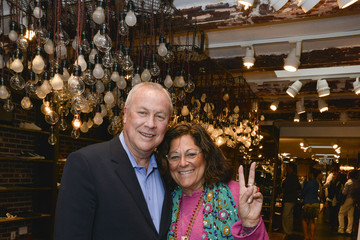 Fern Mallis John Varvatos Celebrates The 21st Annual Watermill Center Summer Benefit