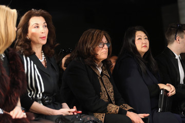 Fern Mallis Front Row at the Lie Sang Bong Show