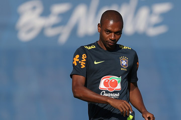 Fernandinho Brazil Training And Press Conference