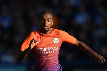 Fernandinho Huddersfield Town v Manchester City - The Emirates FA Cup Fifth Round