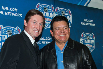 Fernando Valenzuela 2014 Coors Light NHL Stadium Series - Los Angeles - Red Carpet