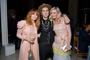 (L-R) Natasha Lyonne, Adir Abergel, and Kirsten Dunst attend the Fifth Annual InStyle Awards at The Getty Center on October 21, 2019 in Los Angeles, California.