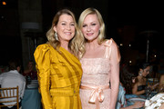 Ellen Pompeo and Kirsten Dunst attend the Fifth Annual InStyle Awards at The Getty Center on October 21, 2019 in Los Angeles, California.