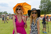 Host Delfina Blaquier and stylist Rachel Zoe attend the fifth annual Veuve Clicquot Polo Classic on June 2, 2012 in Jersey City.