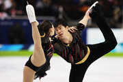 Dan Zhang and Hao Zhang of China compete in the figure skating pairs free skating on day 4 of the Vancouver 2010 Winter Olympics at the Pacific Coliseum on February 15, 2010 in Vancouver, Canada.