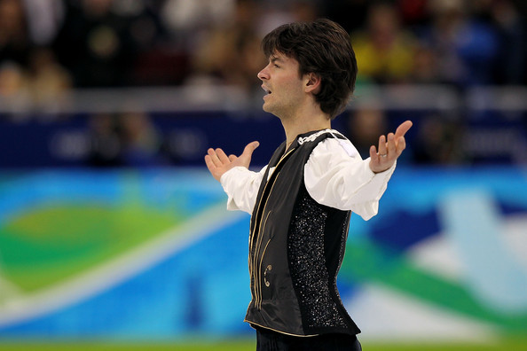 Stephane Lambiel Stephane Lambiel of Switzerland competes in the men's figure skating free skating on day 7 of the Vancouver 2010 Winter Olympics at the Pacific Coliseum on February 18, 2010 in Vancouver, Canada.