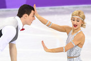 Aljona Savchenko and Bruno Massot of Germany compete in the Figure Skating Team Event - Pair Skating Short Program during the PyeongChang 2018 Winter Olympic Games at Gangneung Ice Arena on February 9, 2018 in Gangneung, South Korea.
