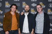 (L-R) Benh Zeitlin, Dan Romer, and Glenn Kiser attend Film Independent's Directors Close Up: Night 5 at the Landmark Theater on February 12, 2020 in Los Angeles, California.