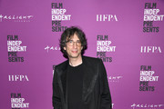 "Neil Gaiman at Film Independent presents special screening of ""Good Omens"" at ArcLight Hollywood on May 16, 2019 in Hollywood, California."