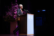 John Waters speaks onstage at the Film Society Of Lincoln Center's 50th Anniversary Gala at Lincoln Center on April 29, 2019 in New York City.