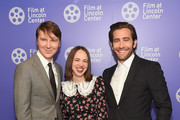 (L-R) Paul Dano, Zoe Kazan and Jake Gyllenhall attend the Film Society Of Lincoln Center's 50th Anniversary Gala at Lincoln Center on April 29, 2019 in New York City.