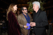 Louise Kugelberg, Julian Schnabel attend the Film Society Of Lincoln Center's 50th Anniversary Gala at Lincoln Center on April 29, 2019 in New York City.
