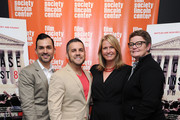 (L-R) Paul Katami, Jeff Zarrillo, Sandy Stier and Kris Perry attend a screening of 'The Case Against 8' presented by Film Society Of Lincoln Center at Walter Reade Theater on May 29, 2014 in New York City.