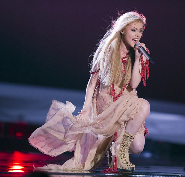 Alyosha In Final Of The Eurovision Song Contest 2010